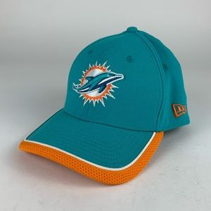 Miami Dolphins NFL New Era Stretch Fitted Hat